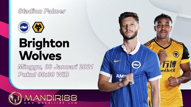 Prediksi Brighton Hove Albion Vs Wolverhampton Wanderers