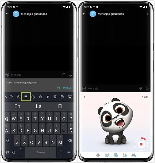 يمكنك الآن إنشاء الرموز التعبيرية للحيوانات المتحركة الخاصة بك مع تطبيق لوحة المفاتيح SwiftKey للأندرويد من مايكروسوفت