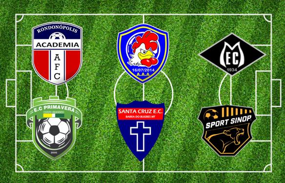 Seis clubes confirmam participação no Mato-grossense da Segunda Divisão