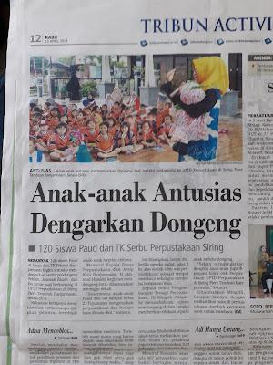 Berita Anak suka mendengar dongeng cerita
