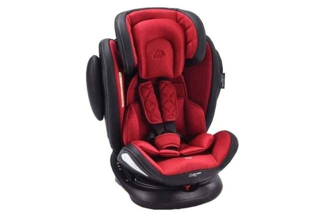 Cadeira de Carro Softfix 360º Multikids Baby até 36kg Red