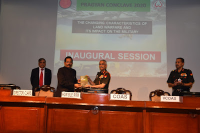 Pragyan Conclave 2020 Indian Army's International Seminar Analysing Future Warfare held in New Delhi