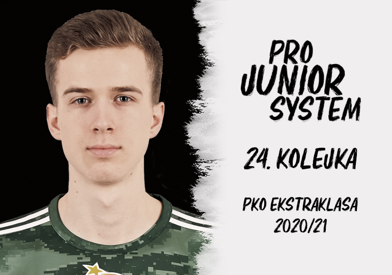 Łukasz Bejger<br><br>fot. Dawid Antecki / Śląsk Wrocław / slaskwroclaw.pl<br><br>graf. Bartosz Urban