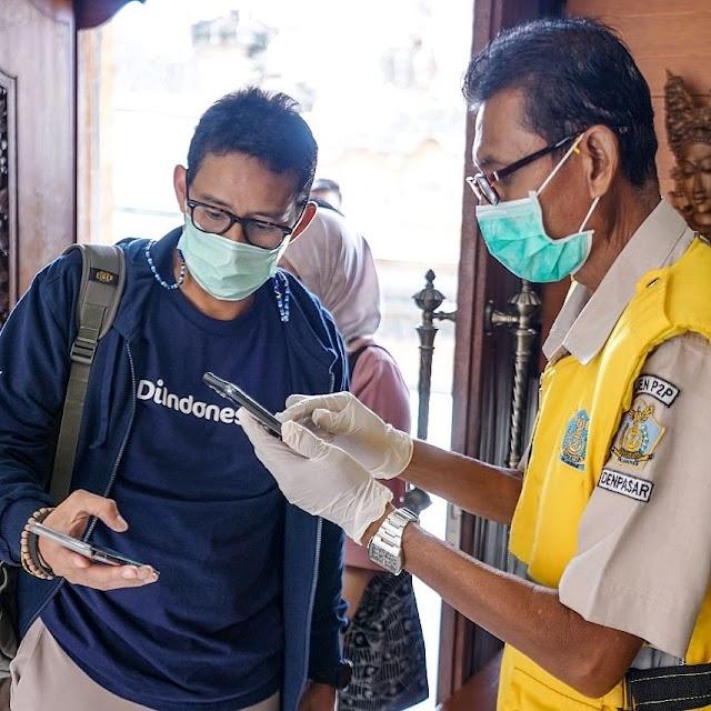 Vaksinasi Kru Pesawat Di Bali Telah Dimulai