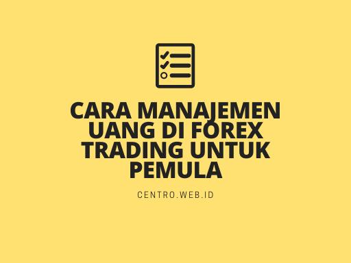 Cara Manajemen Uang di Forex Trading Untuk Pemula Yang Baik Dan Benar