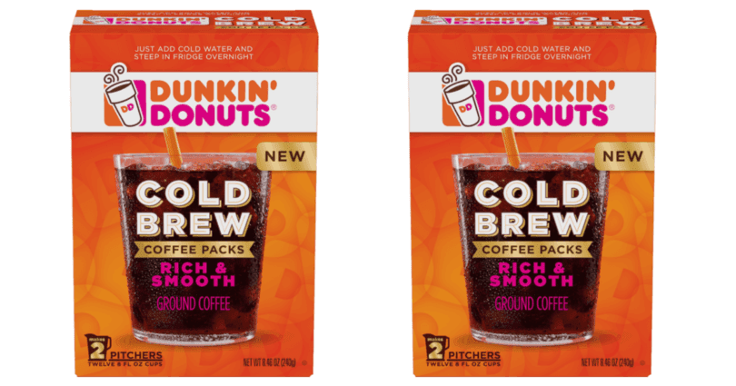 Target Dunkin Donuts Cold Brew 39 Cents Per Box
