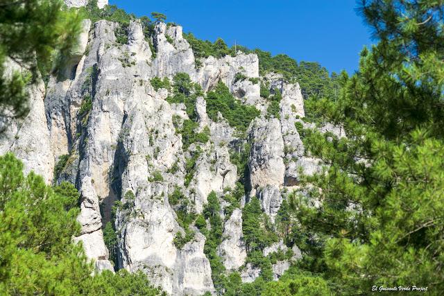 Montañas de roca en Matarraña