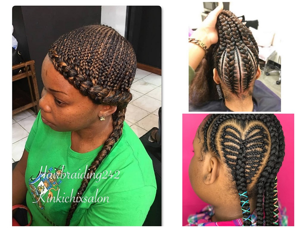 2018 African Braided Hairstyles Most Impressive Braids