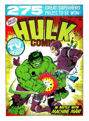 Hulk Comic #36, Machine Man