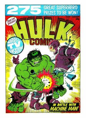 Hulk Comic #36, Machine Man