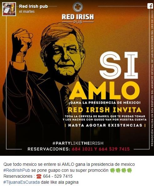 AMLO, Morena, bar