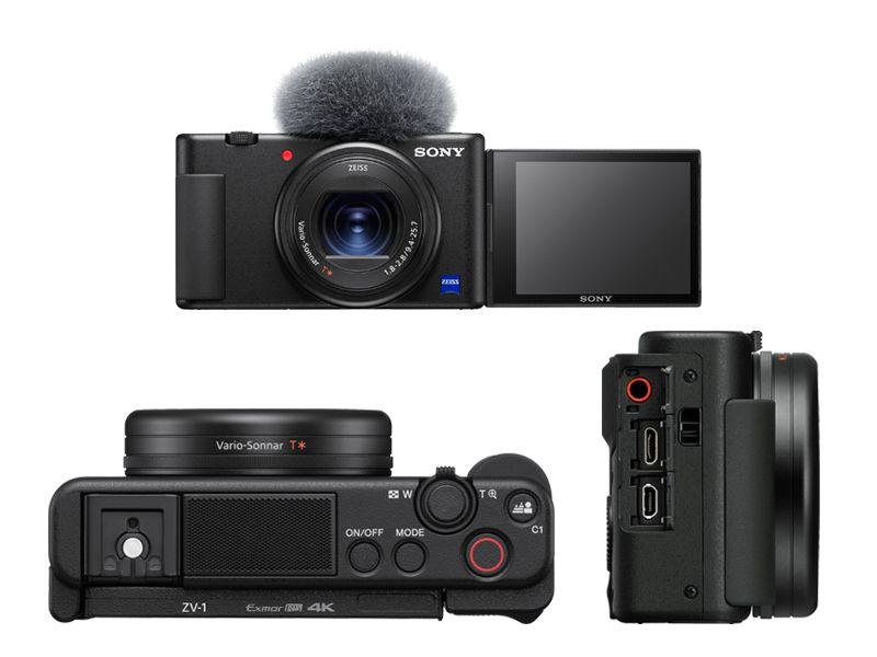 Органы управления Sony ZV-1