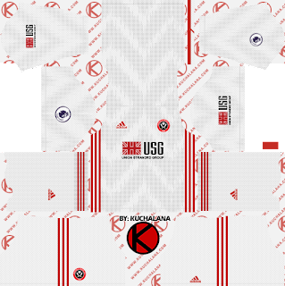 Sheffield United FC 2019/2020 Kit - Dream League Soccer Kits