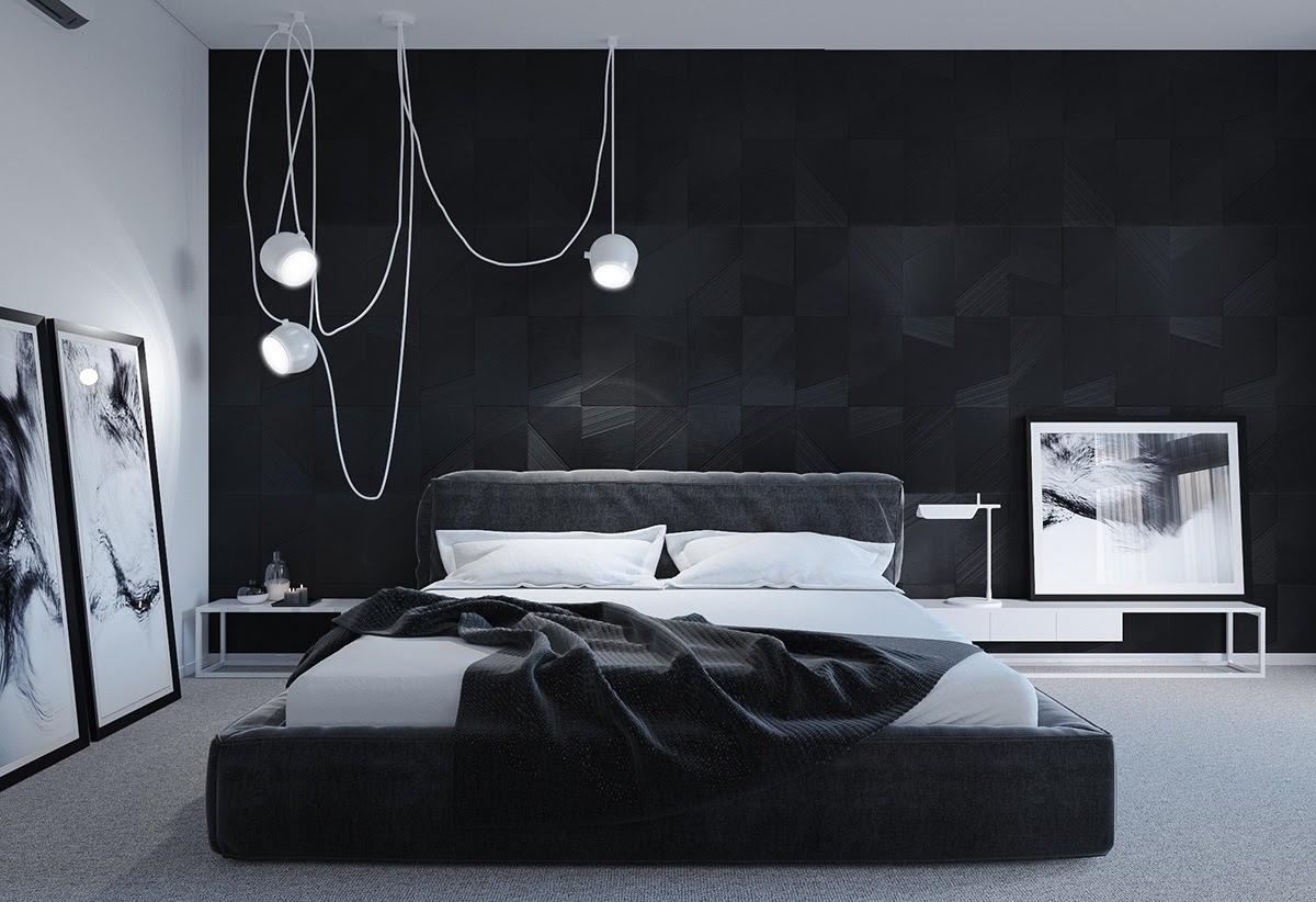 Home Color Idea Modern Black Bedroom Ideas 2019