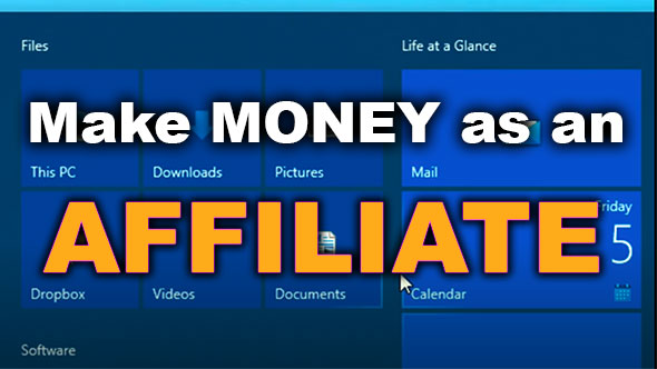 I made Money Online as an Affiliate