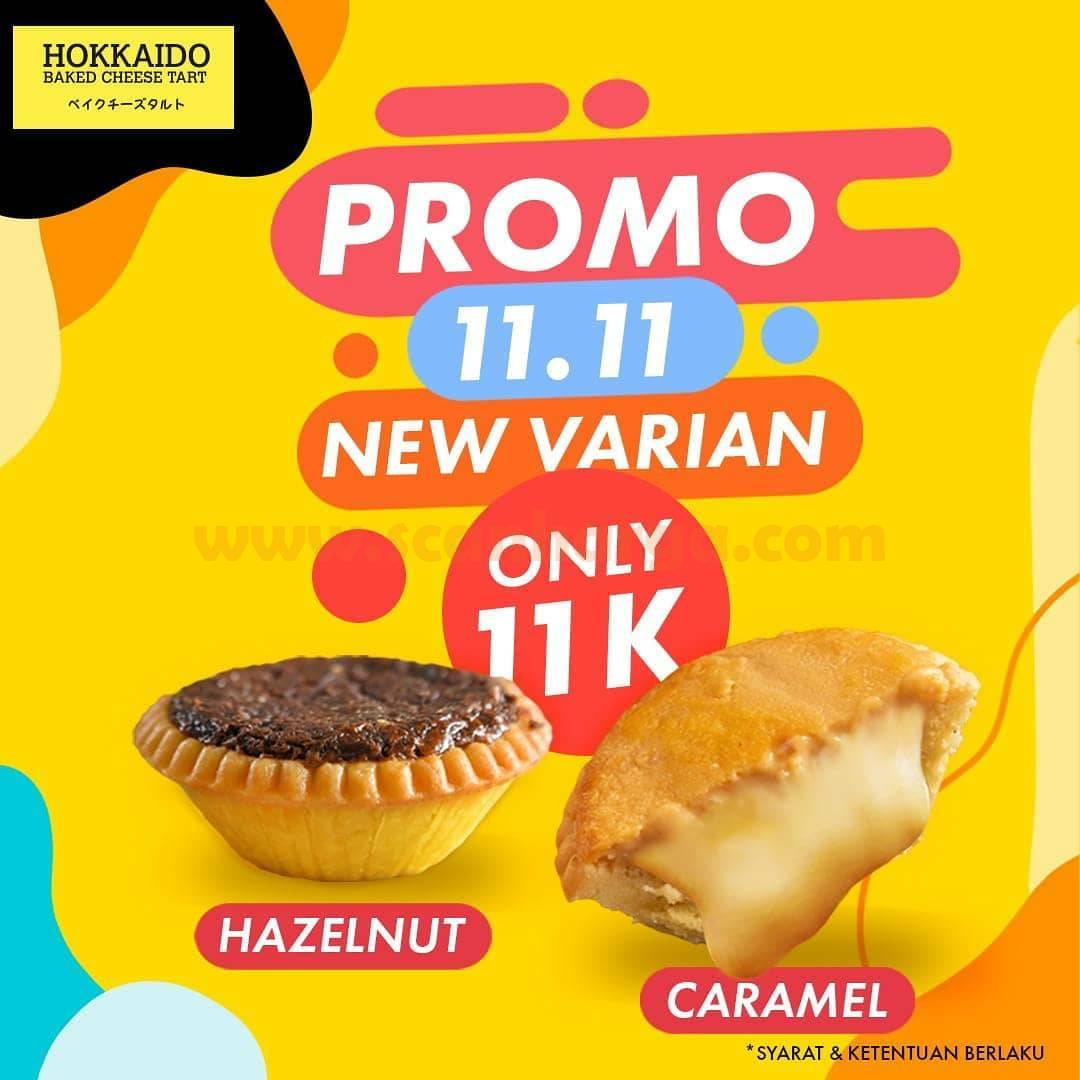 Promo Hokkaido harga spesial New Varian Hazelnut & Caramel hanya Rp 11.000