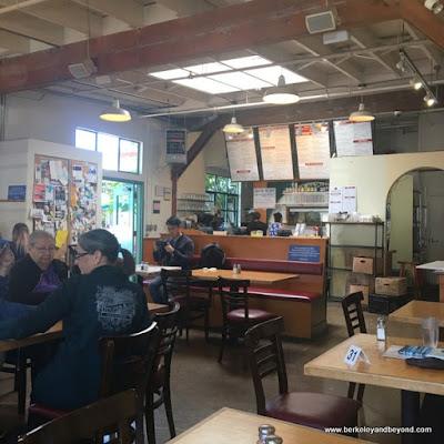interior of Tomate Cafe in Berkeley, California