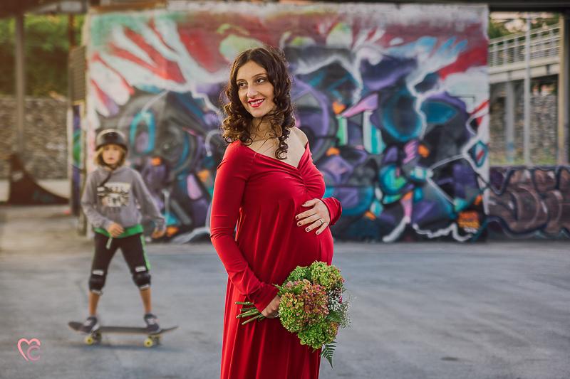 Servizio fotografico in gravidanza,maternity