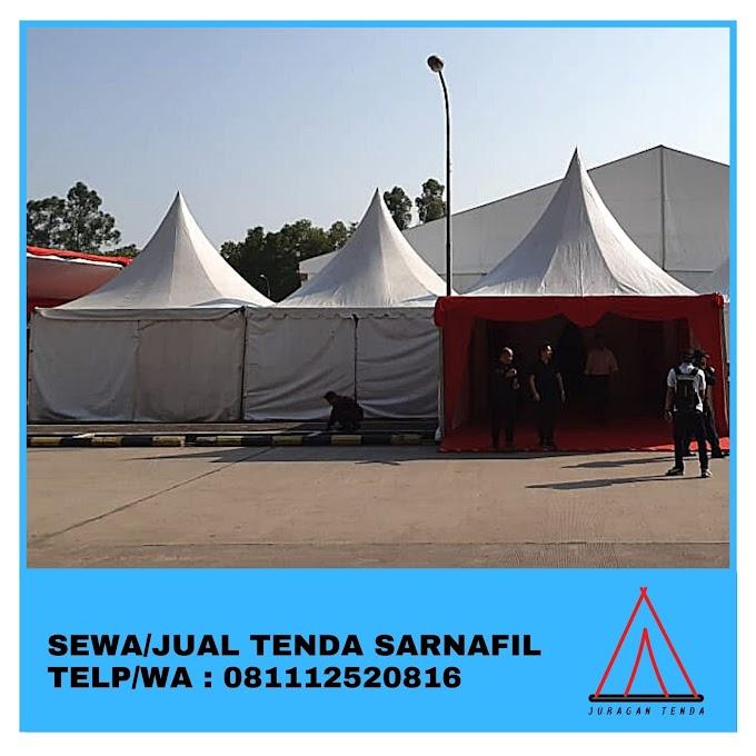 Jual Tenda Sarnafil | Tenda Kerucut 5x5 m | Jakarta 081112520816