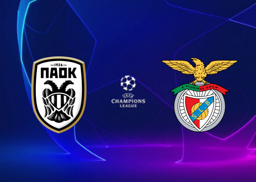 PAOK vs Benfica -Highlights 15 September 2020