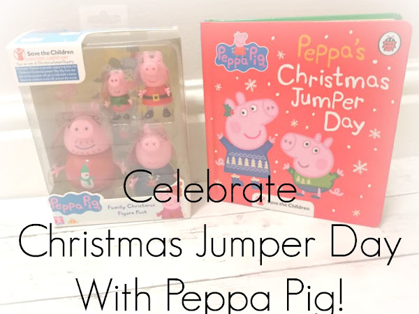 Celebrating Christmas Jumper Day With Peppa Pig!