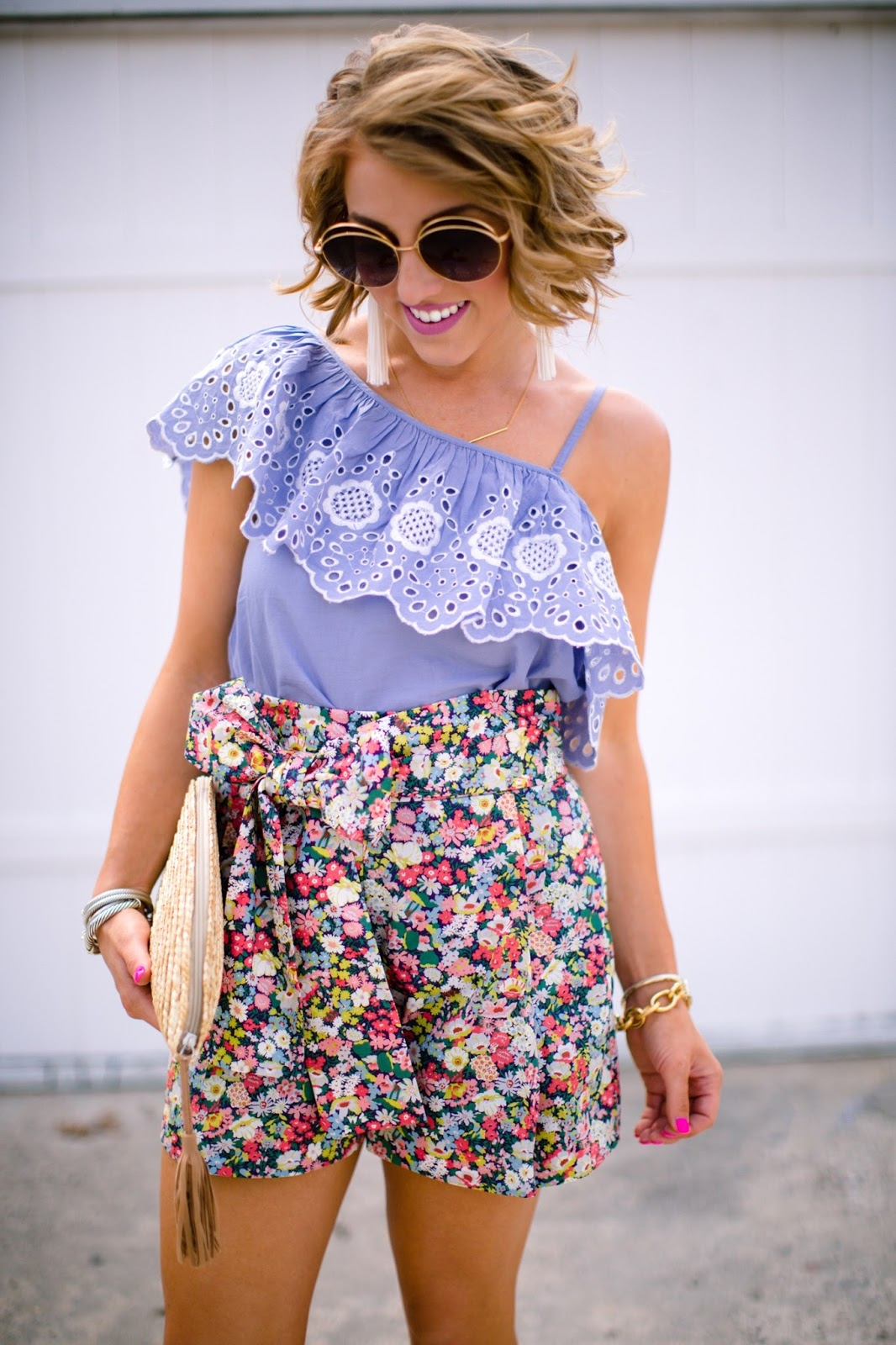 J.Crew Tie-Waist Short - Click through to see more on Something Delightful Blog!