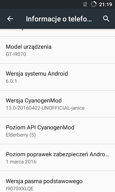 Samsung Galaxy S Advance gets Android 6.0.1 Marshmallow update via CyanogenMod 13