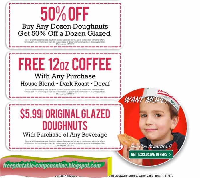 Krispy kreme discount coupons