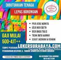 Info Loker Sidoarjo di Cap Kampung Manis oktober 2020