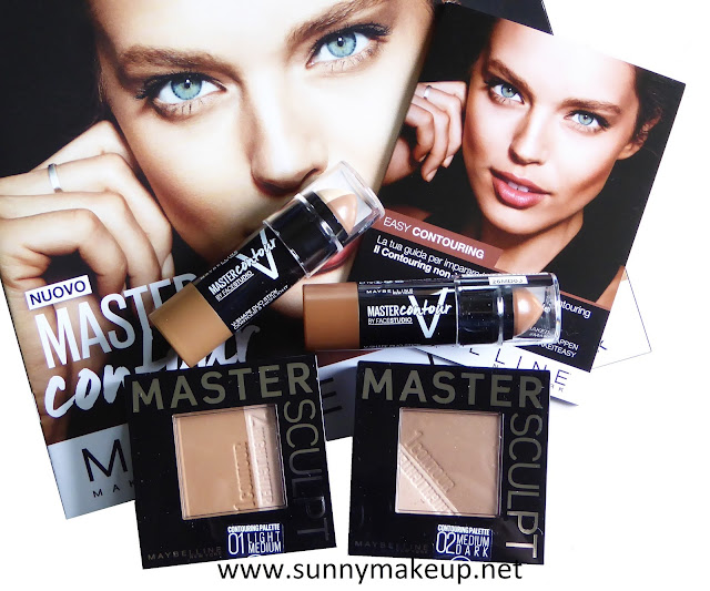 Maybelline - Easy Contouring. Master Contour & Master Sculpt.