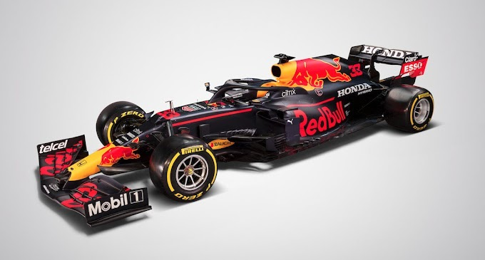 Zdjęcia Red Bull RB16B