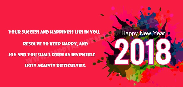 happy new year greetings 2018 free download