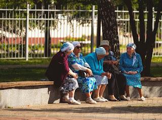 Пенсионеры РФ Социальная группа Эпсилон