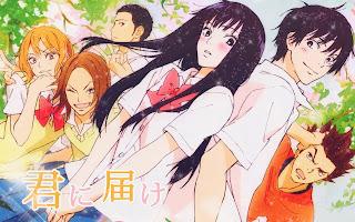 Resultado de imagen de Kimi ni Todoke anime