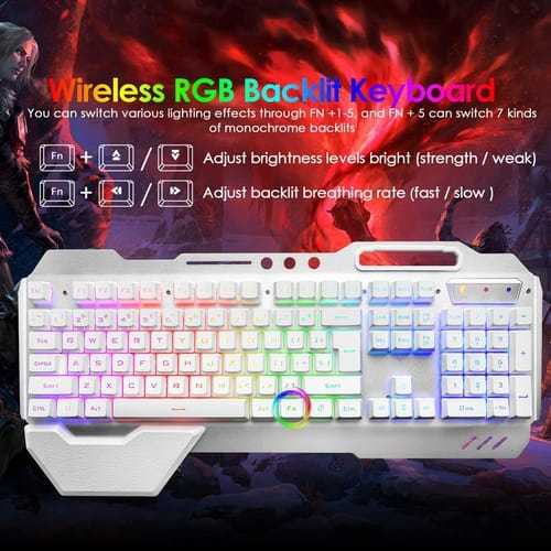 Review LexonElec Wireless Gaming Keyboard and Mouse