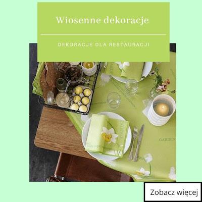 Modne dekoracje wiosenne 2020 - jak udekorować stół na wiosnę?