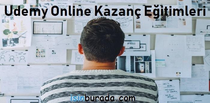Udemy Online Kazanç Eğitimleri