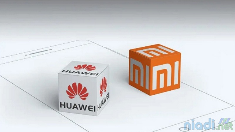logo xiaomi vs huawei 2021