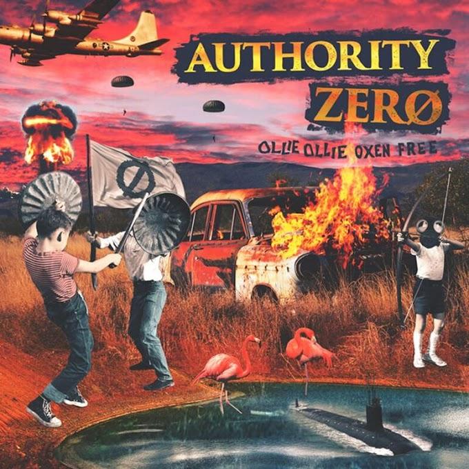 "Authority Zero stream new album ""Ollie Ollie Oxen Free"""