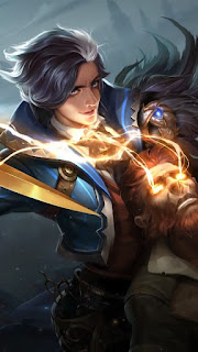 Gusion Hairstylist Heroes Assassin Mage of Skins V1