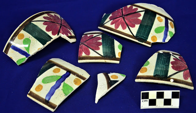 Hand Painted Ceramics from the Arevalo Shoal Shipwreck