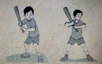 Cara memukul bola
