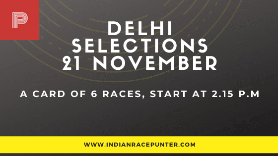 Today's Delhi Race Tips and Selections
