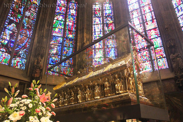 Aachen Cathedral Relics Shrines