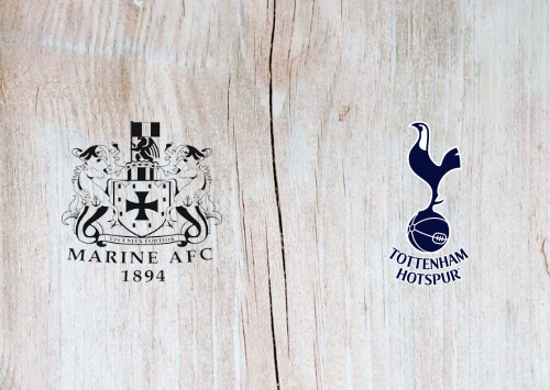 Marine vs Tottenham Hotspur -Highlights 10 January 2021