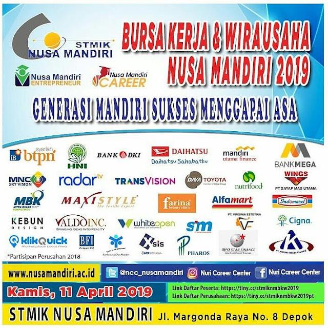 Job Fair Depok 2019