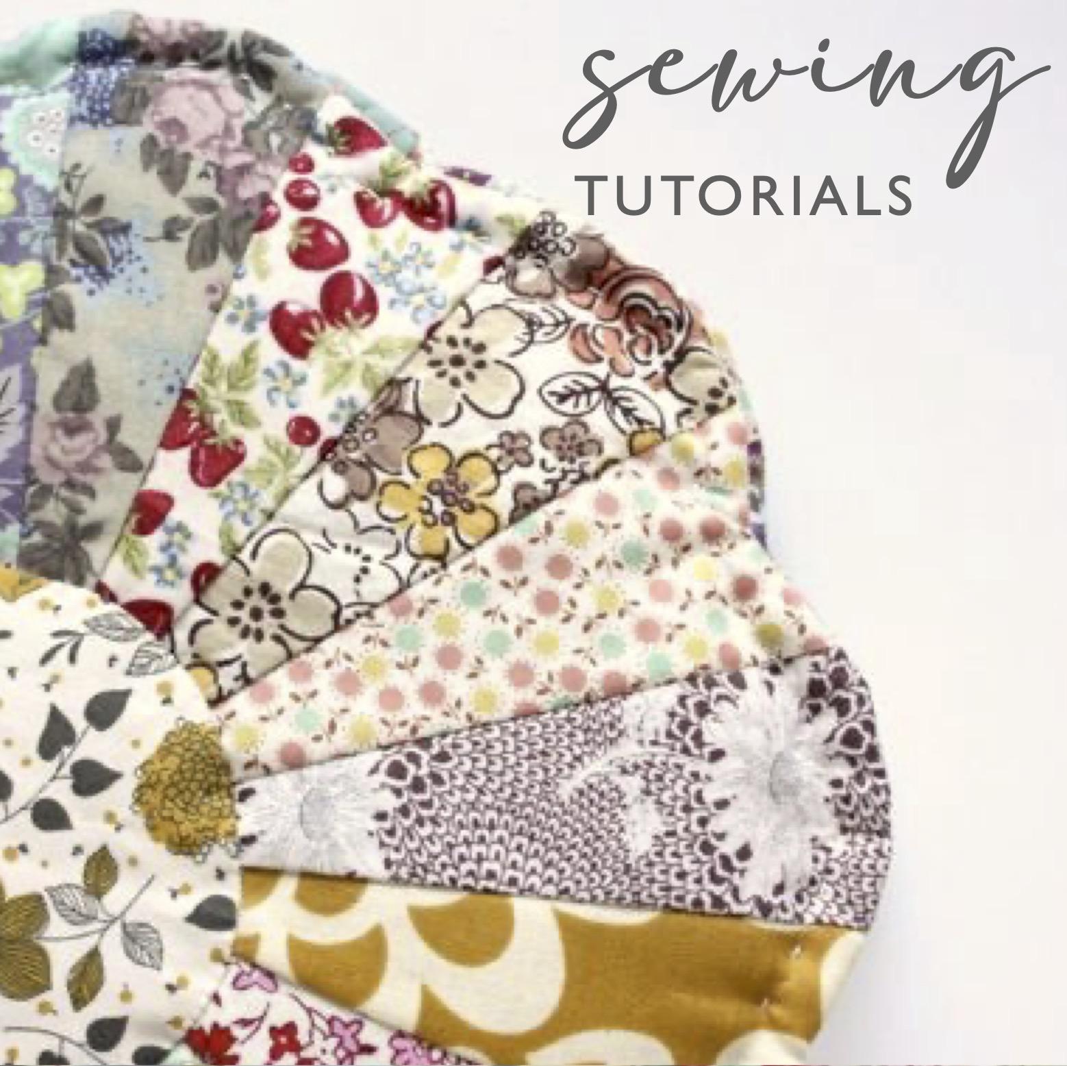 Sewing Tutorials Link