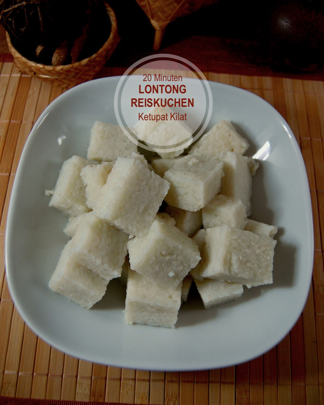 Rezept Ketupat Kilat, Reiskuchen schnell Einfach