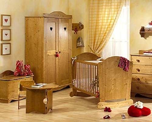 chambre bebe bois naturel. Black Bedroom Furniture Sets. Home Design Ideas