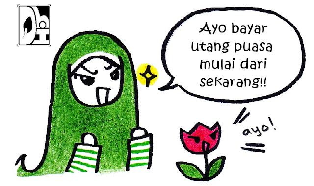 tata cara mengganti Puasa ramadhan yang ditinggalkan